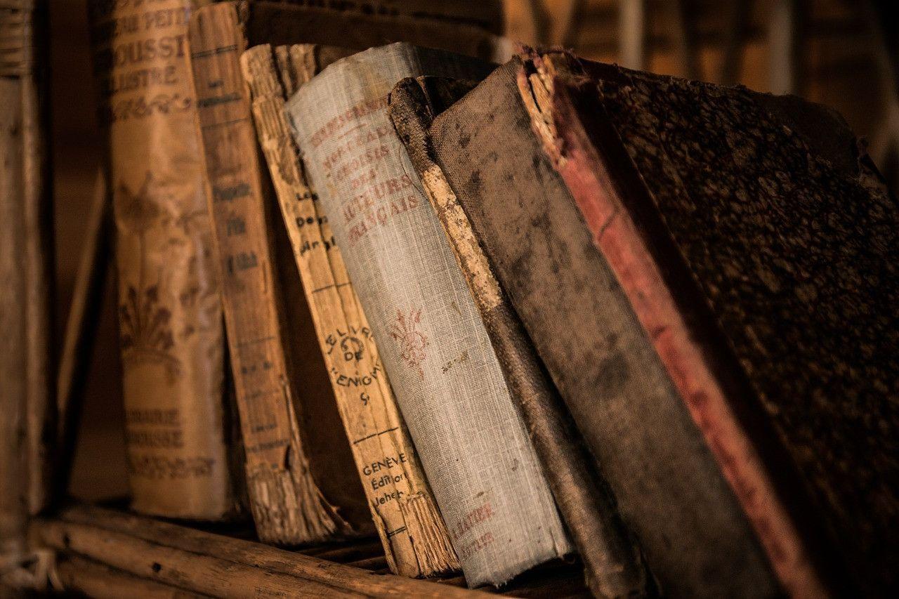 Libros viejos El Alquimista